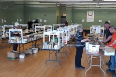 Even near the end, there were a lot of books left to sift through