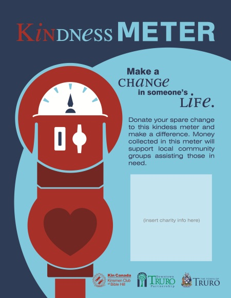 Kindness Meters Collecting for the Community