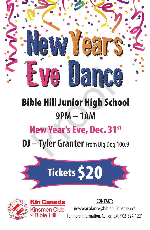 New Year's Dance Update