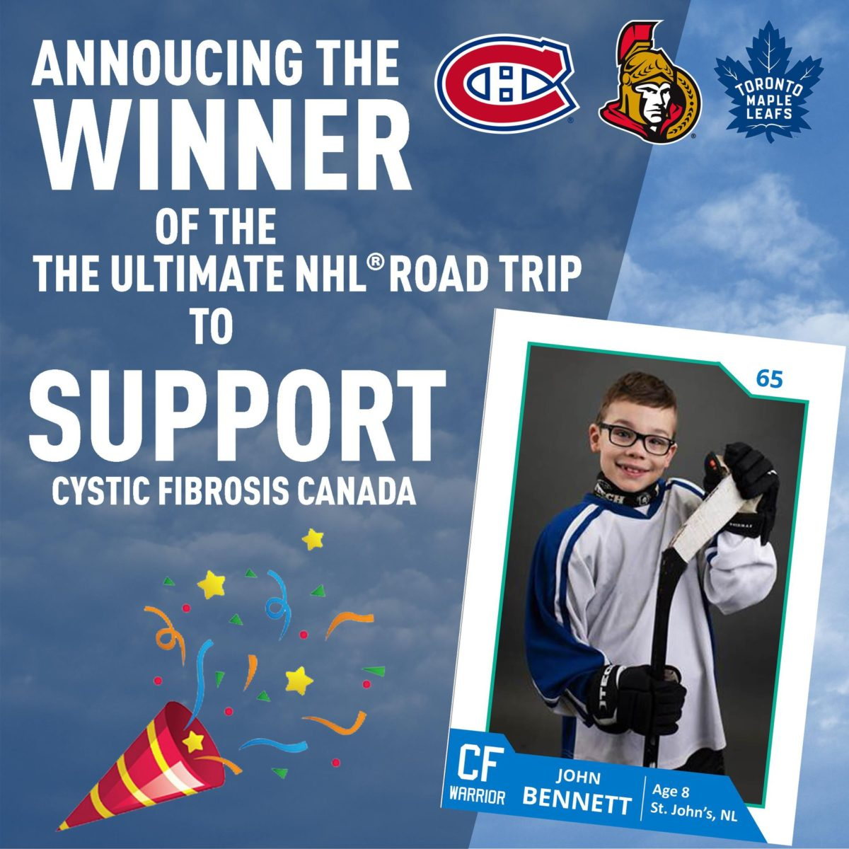 Ultimate NHL Road Trip Winners!