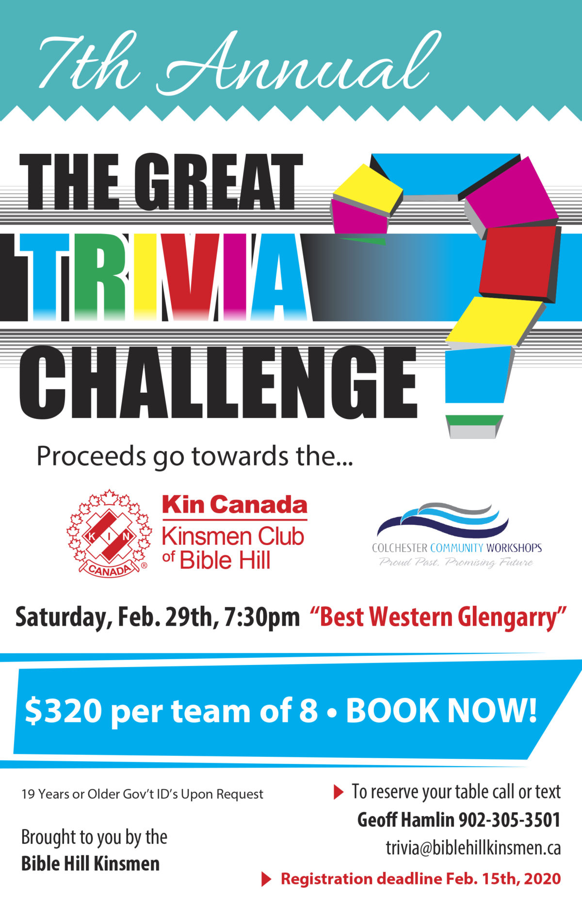 7th Annual Great Trivia Challenge